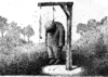 Cartoon: No title (small) by Wiejacki tagged landscape,man,punishment,hygiene