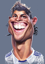 Cartoon: Christiano Ronaldo Real Madrid (small) by Tonio tagged football