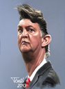 Cartoon: Louis van Gaal (small) by Tonio tagged trainer,coach,bayern,münchen,holland,dutch,ajax,amsterdam