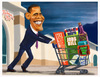 Cartoon: Obama- Shopping for America. (small) by Fred Makubuya tagged obama,us,international,politics,washington