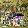 Cartoon: Bosch Tours (small) by zu tagged bosch,tour,garden,delight