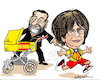 Cartoon: Catalonia election (small) by jeander tagged catalionia,madrid,spain,carles,puigdemont,president