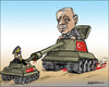 Cartoon: Turkey coup (small) by jeander tagged erdogan,turkey,military,coup