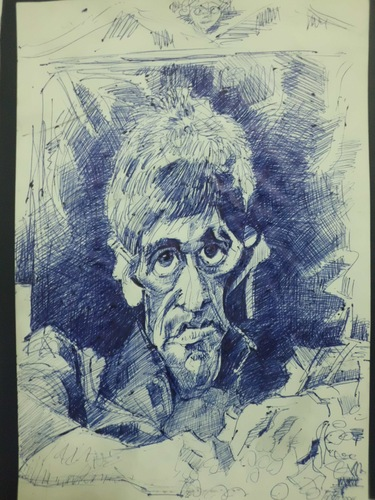 Cartoon: AL PACINO (medium) by GOYET tagged al,celebreties,caricature,carttoon,pacino