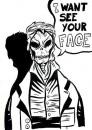 Cartoon: I WANT SEE YOUR FACE (small) by Jorge Fornes tagged ilustration