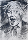 Cartoon: Brexit Gone Wild (small) by yllifinearts tagged boris,johnson,brexit,unitet,kingdem,prime,minister