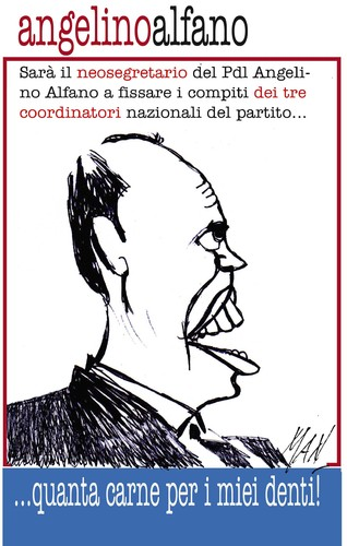 Cartoon: personaggi (medium) by Enzo Maneglia Man tagged alfano