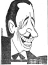 Cartoon: Gorni Kramer (small) by Enzo Maneglia Man tagged caricatura,gorni,kramer,direttore,orchestra