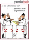 Cartoon: processioni deviate (small) by Enzo Maneglia Man tagged cassonettari,man,maneglia,fighillearte