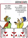 Cartoon: sindrome di fine vacanze (small) by Enzo Maneglia Man tagged cassonettari,man,maneglia,fighillearte