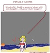Cartoon: Alone (small) by cartoonharry tagged alone,cartoonharry