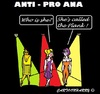 Cartoon: Anti Pro-Ana (small) by cartoonharry tagged anorexia,catwalk,models,girls,plank