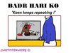 Cartoon: Badr Hari (small) by cartoonharry tagged badrhari,ko,badr,hari,moskou,freefight,freefighter,cartoons,cartoonists,caricatures,cartoonharry,dutch,holland,russia,toonpool