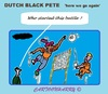 Cartoon: BlackPete Discussion (small) by cartoonharry tagged holland,dutch,blackpete,zwartepiet,discussion