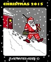 Cartoon: Christmas (small) by cartoonharry tagged santa,2015,christmas,nowadays