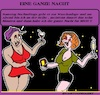 Cartoon: Die Ganze Nacht (small) by cartoonharry tagged nacht,cartoonharry