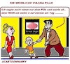 Cartoon: Die Pille (small) by cartoonharry tagged viagra,pille