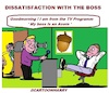 Cartoon: Dissatisfaction (small) by cartoonharry tagged acorn,cartoonharry