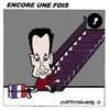 Cartoon: Encore une fois (small) by cartoonharry tagged sarkozy,france,one,time,cartoon,cartoonist,cartoonharry,dutch,toonpool
