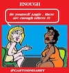 Cartoon: Enough (small) by cartoonharry tagged enough,cartoonharry
