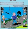Cartoon: Erlaubt (small) by cartoonharry tagged erlauben,iphone,jungs,jogger