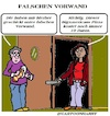 Cartoon: Falsch (small) by cartoonharry tagged falsch,cartoonharry