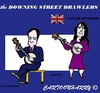 Cartoon: GrBritain (small) by cartoonharry tagged cameron samantha accordeon clarinet vips famous politicians cartoons cartoonists cartoonharry dutch toonpool