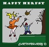 Cartoon: Happy Herfst (small) by cartoonharry tagged herfst2015