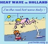 Cartoon: Hot Wave (small) by cartoonharry tagged holland,heatwave,hot,summer,2015
