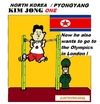 Cartoon: Kim Jung One (small) by cartoonharry tagged olympics,london,kim,jungun,northkorea,leader,cartoon,cartoonist,cartoonharry,dutch,toonpool