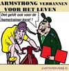 Cartoon: Lance Armstrong (small) by cartoonharry tagged llance,armstrong,usada,uci,wielrennen,verbannen,cartoon,cartoonharry,dutch,toonpool