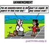 Cartoon: Lost Dog (small) by cartoonharry tagged dog,lost,read
