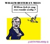 Cartoon: Mees en Willem (small) by cartoonharry tagged buiter,mees,newyork,emails,sex