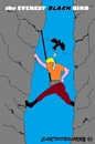 Cartoon: Mount Everest (small) by cartoonharry tagged mounteverest,nepal,problems,dead,highness,desease