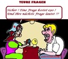Cartoon: Neue Frage (small) by cartoonharry tagged wahrsagerin,teuer,nächste,frage
