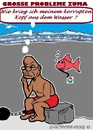 Cartoon: Probleme Zuma (small) by cartoonharry tagged sudafrika,zuma,korruption,probleme