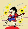Cartoon: Radiological Music (small) by cartoonharry tagged radiological,music,musician,female,japanese,guitar,cartoon,comic,comics,comix,artist,art,arts,notes,drawing,cartoonist,cartoonharry,dutch,japan,toonpool,toonsup,hyves,linkedin,buurtlink,deviantart