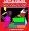 Cartoon: Santa at Work (small) by cartoonharry tagged holland,santa
