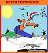 Cartoon: Skaters Fun (small) by cartoonharry tagged holland,cartoonharry,fun,skating,skaters