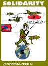 Cartoon: Solidarity (small) by cartoonharry tagged usa,europe,russia,is,solidarity
