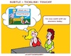 Cartoon: Subtl (small) by cartoonharry tagged answer,subtl,cartoonharry