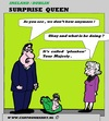 Cartoon: Surprise Queen Elisabeth (small) by cartoonharry tagged bow,queen,elisabeth,ireland,england,planken,planking,cartoon,art,arts,drawing,cartoonist,cartoonharry,toonpool,dutch