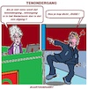 Cartoon: Tenondergang (small) by cartoonharry tagged bedrijf,cartoonharry