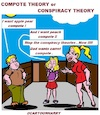 Cartoon: Theory (small) by cartoonharry tagged theory,cartoonharry