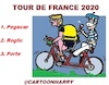 Cartoon: Tour de France 2020 (small) by cartoonharry tagged tourdefrance2020,cartoonharry