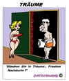 Cartoon: Traüme (small) by cartoonharry tagged traum,träume,mann,frau,nachbarin,nachbar,cartoon,cartoonist,cartoonharry,dutch,toonpool
