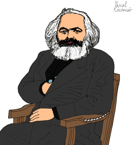 Cartoon: KARL MARX (medium) by Pascal Kirchmair tagged 200,jahre,karl,marx,cartoon,zeichnung,desenho,caricature,illustration,ilustracion,pascal,kirchmair,portrait,retrato,ritratto,drawing,dibujo,disegno,ilustracao,illustrazione,illustratie,dessin,du,jour,art,of,the,day,tekening,teckning,cartum,vineta,comica,vignetta,caricatura,karikatur,ink,immagine,image,bild,imagen,imagem,arte,london,capital,kapital,marxismus,marxism,marxismo,marxisme,trier,200,jahre,karl,marx,cartoon,zeichnung,desenho,caricature,illustration,ilustracion,pascal,kirchmair,portrait,retrato,ritratto,drawing,dibujo,disegno,ilustracao,illustrazione,illustratie,dessin,du,jour,art,of,the,day,tekening,teckning,cartum,vineta,comica,vignetta,caricatura,karikatur,ink,immagine,image,bild,imagen,imagem,arte,london,capital,kapital,marxismus,marxism,marxismo,marxisme,trier