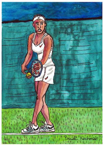 Cartoon: Madison Keys (medium) by Pascal Kirchmair tagged madison,keys,tennis,cartoon,drawing,karikatur,caricature,dibujo,illustration,pascal,kirchmair,usa,ilustracao,ilustracion,portret,cartum,tekening,dessin,disegno,vignetta,desenho,madison,keys,tennis,cartoon,drawing,karikatur,caricature,dibujo,illustration,pascal,kirchmair,usa,ilustracao,ilustracion,portret,cartum,tekening,dessin,disegno,vignetta,desenho