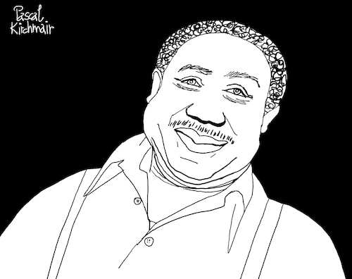 Cartoon: Muddy Waters (medium) by Pascal Kirchmair tagged mckinley,morganfield,muddy,waters,illustration,drawing,zeichnung,pascal,kirchmair,cartoon,caricature,karikatur,ilustracion,dibujo,desenho,ink,disegno,ilustracao,illustrazione,illustratie,dessin,de,presse,du,jour,art,of,the,day,tekening,teckning,cartum,vineta,comica,vignetta,caricatura,portrait,retrato,ritratto,portret,kunst,blues,mannish,boy,rolling,stone,singer,songwriter,mississippi,hoochie,coochie,man,just,want,to,make,love,you,mckinley,morganfield,muddy,waters,illustration,drawing,zeichnung,pascal,kirchmair,cartoon,caricature,karikatur,ilustracion,dibujo,desenho,ink,disegno,ilustracao,illustrazione,illustratie,dessin,de,presse,du,jour,art,of,the,day,tekening,teckning,cartum,vineta,comica,vignetta,caricatura,portrait,retrato,ritratto,portret,kunst,blues,mannish,boy,rolling,stone,singer,songwriter,mississippi,hoochie,coochie,man,just,want,to,make,love,you