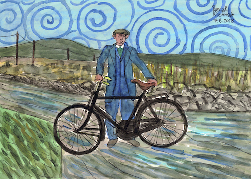 Cartoon: On the way home (medium) by Pascal Kirchmair tagged after,the,rain,comes,sun,again,bicycle,bike,fahrrad,on,way,home,irish,moments,bernd,weisbrod,illustration,drawing,zeichnung,pascal,kirchmair,irische,impressionen,cartoon,caricature,karikatur,ilustracion,dibujo,desenho,ink,disegno,ilustracao,illustrazione,illustratie,dessin,de,presse,du,jour,art,of,day,tekening,teckning,cartum,vineta,comica,vignetta,caricatura,portrait,retrato,ritratto,portret,aquarelle,watercolor,watercolour,acquarello,acuarela,aguarela,aquarela,irland,ireland,heimelig,irlanda,irlandesi,irlande,tradition,velo,bici,bicicleta,bicicletta,bicyclette,after,the,rain,comes,sun,again,bicycle,bike,fahrrad,on,way,home,irish,moments,bernd,weisbrod,illustration,drawing,zeichnung,pascal,kirchmair,irische,impressionen,cartoon,caricature,karikatur,ilustracion,dibujo,desenho,ink,disegno,ilustracao,illustrazione,illustratie,dessin,de,presse,du,jour,art,of,day,tekening,teckning,cartum,vineta,comica,vignetta,caricatura,portrait,retrato,ritratto,portret,aquarelle,watercolor,watercolour,acquarello,acuarela,aguarela,aquarela,irland,ireland,heimelig,irlanda,irlandesi,irlande,tradition,velo,bici,bicicleta,bicicletta,bicyclette